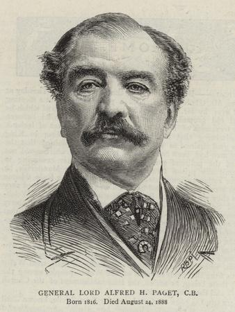 General Lord Alfred H Paget