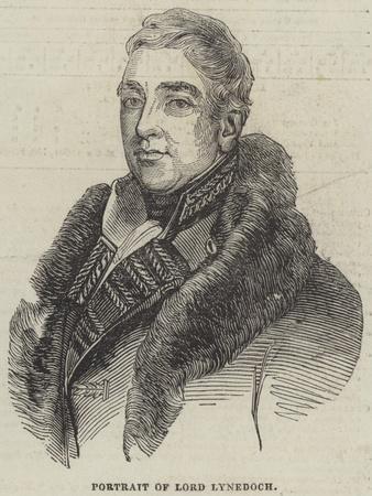 Portrait of Lord Lynedoch