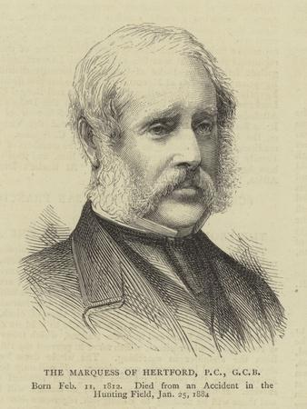 The Marquess of Hertford