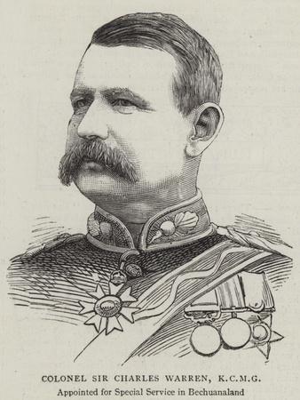 Colonel Sir Charles Warren
