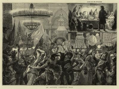 An Artists' Carnival Ball