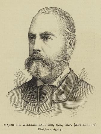 Major Sir William Palliser