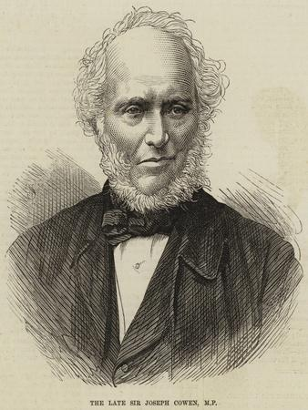 The Late Sir Joseph Cowen