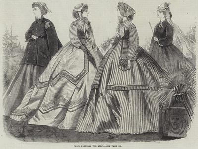 Paris Fashions for April