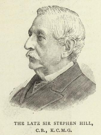 The Late Sir Stephen Hill