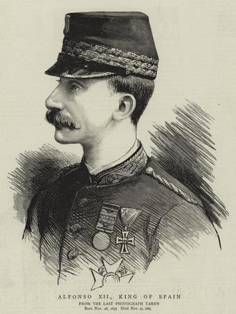 Alfonso XII, King of Spain