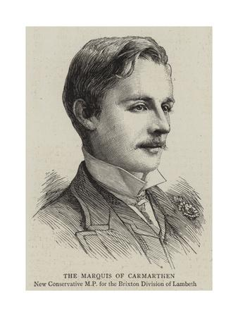 The Marquis of Carmarthen