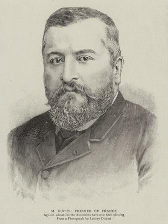 M Dupuy, Premier of France