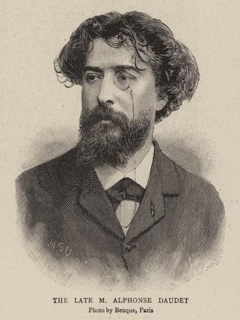 The Late M Alphonse Daudet