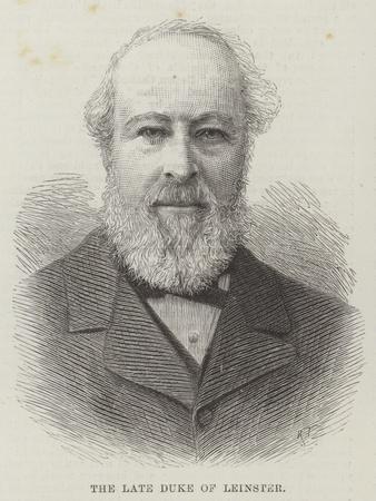 The Late Duke of Leinster