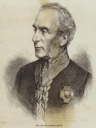 The Late Sir Richard Mayne