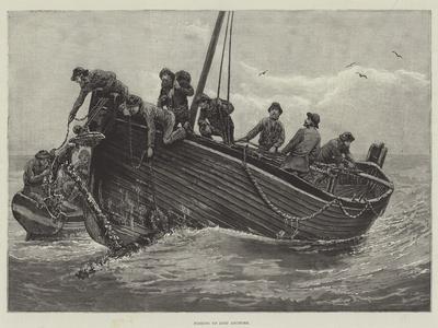 Fishing Up Lost Anchors