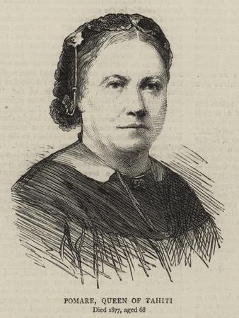 Pomare, Queen of Tahiti
