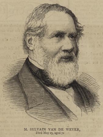 M Sylvain Van De Weyer