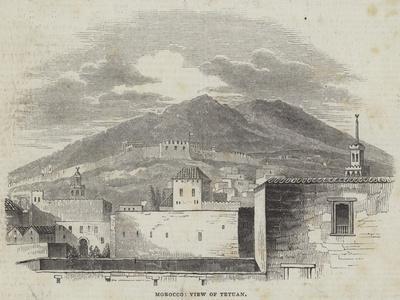 Morocco, View of Tetuan