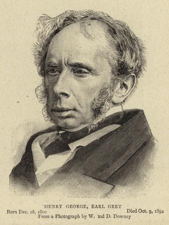 Henry George, Earl Grey