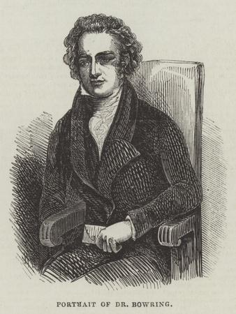 Portrait of Dr Bowring