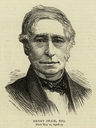 Henry Pease, Esquire
