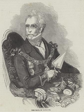 The Earl of Zetland