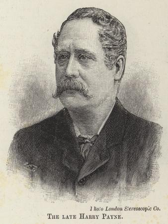 The Late Harry Payne
