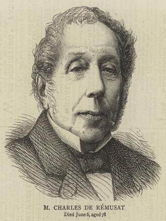 M Charles De Remusat