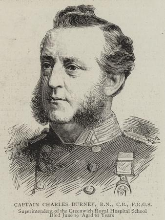 Captain Charles Burney
