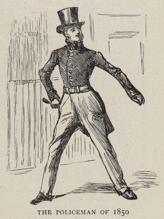 The Policeman of 1850