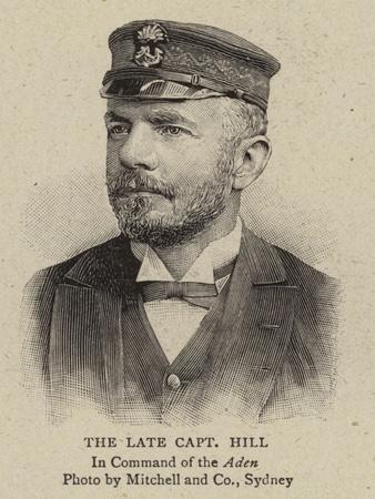 The Late Captain Hill