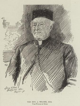 The Reverend J Wilder