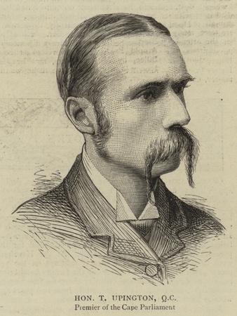 Honourable T Upington