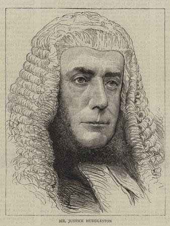 Mr Justice Huddleston