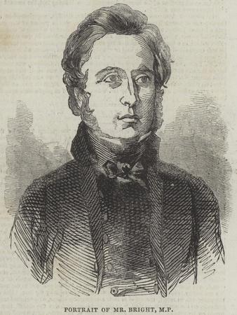 Portrait of Mr Bright