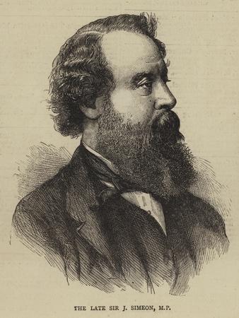 The Late Sir J Simeon