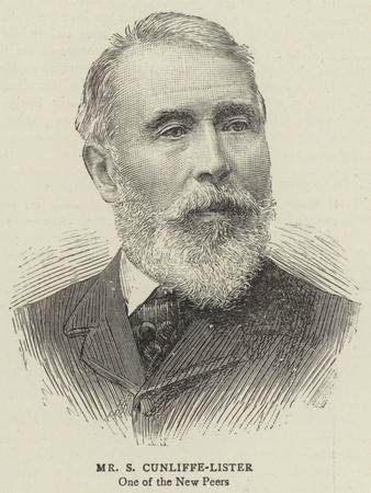 Mr S Cunliffe-Lister