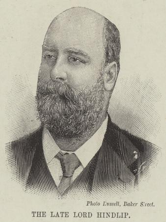 The Late Lord Hindlip