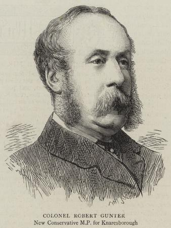 Colonel Robert Gunter