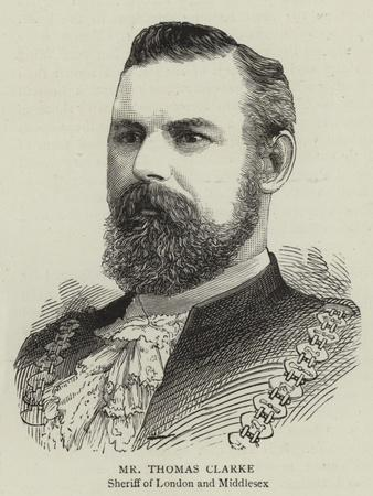 Mr Thomas Clarke
