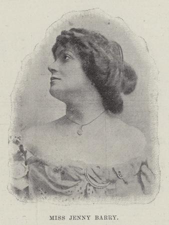 Miss Jenny Barry