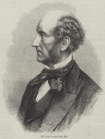 Mr John Stuart Mill