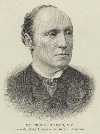 Mr Thomas Milvain