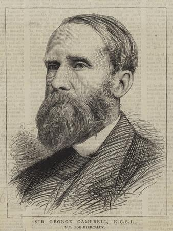 Sir George Campbell
