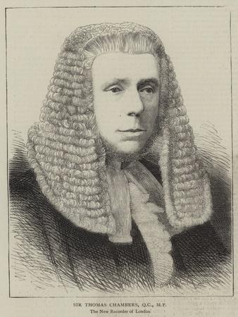 Sir Thomas Chambers