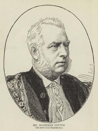 Mr Alderman Cotton