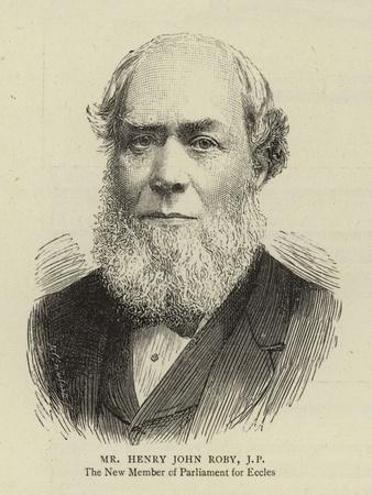 Mr Henry John Roby