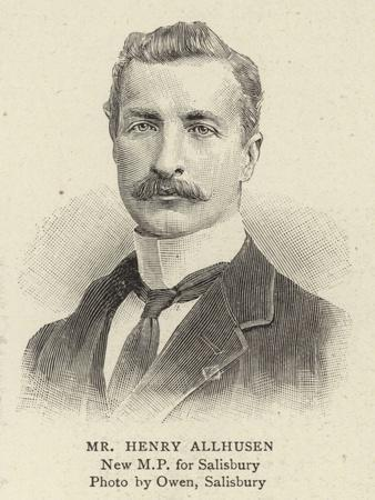 Mr Henry Allhusen