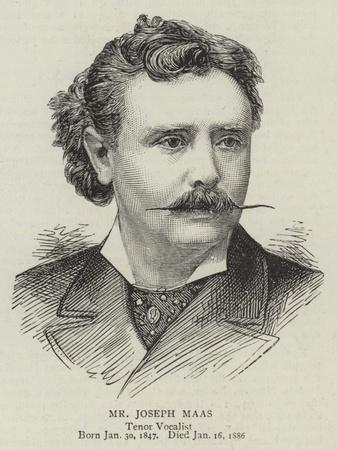 Mr Joseph Maas