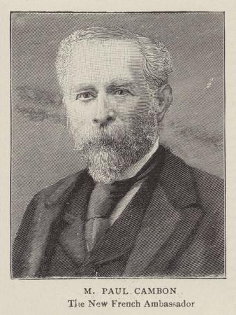 M Paul Cambon