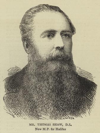 Mr Thomas Shaw