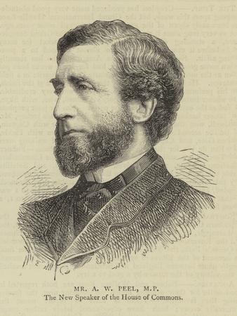 Mr a W Peel