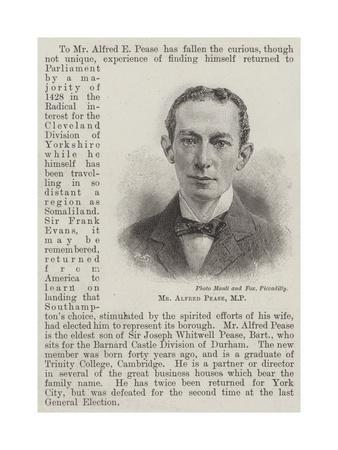 Mr Alfred Pease